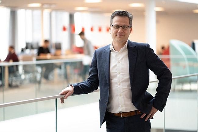 per stigenberg, teknisk chef för Tre Sverige