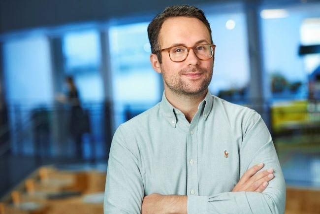 Erik Wottrich, hållbarhetschef Tele2
