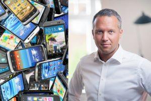 Tre uppmanar kunder att återvinna sina mobiler