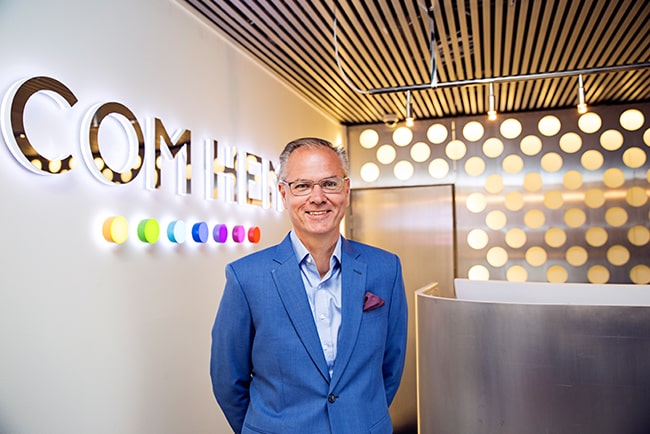 En bild på Com Hems tidigare vd Anders Nilsson